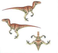 Aprendiendo a Ser: Dinosaurios de papel