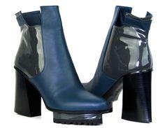 Monica Stålvang Shoes Carmen Petrol