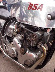 BSA - (You wouldn't want to get your flares caught in THAT belt :-)
