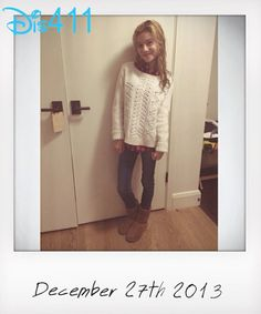 Photo: G Hannelius Thanked Her Hanneliators For Their Support December 27, 2013