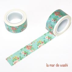 Washi tape flores Washi Tape Diy, Washi Tapes, Masking Tape, Tapas, Cinta Washi, Project Life, Stationary, Projects To Try, Creativity