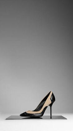 Escarpins de style Richelieu | Burberry