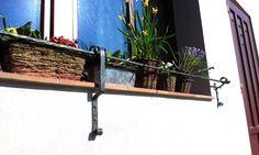 Kovaný plot na okně? Proč ne... #garden #smith #blacksmith #design www.mp27.eu