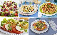 Ensaladas para el verano. - La Cocina de Frabisa La Cocina de Frabisa Bruschetta, Vegetable Pizza, Salad Recipes, Tacos, Mexican, Vegetables, Ethnic Recipes, Diet Ideas, Food