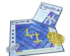 This game is similar to crosswords, but making equations. Young children can begin making equations using addition and subtraction and older children can make equations using multiplication and division.
