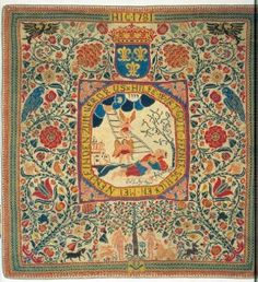 Medieval Knitted Carpet