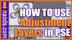 This video will show you the step by step process of how to create adjustments layers. You will learn how to change the color of a photo, paper or embellishment. Visit www.naods.com for more FREE training.