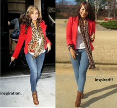 Jeimy's Fashion Love Affair...: A look back at my celebrity inspired looks...