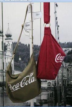 Coca-cola tote bags