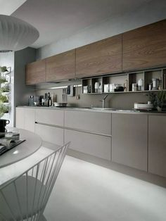 31+ Sleek & Inspiring Contemporary Kitchen Design Ideas #inspiringkitchen #kitchendesign #kitchenideas ~ Gorgeous House