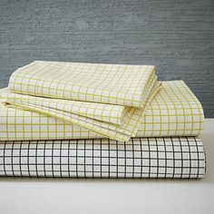 west elm's modern bed sheet sets are soft and comfortable. Our collection includes organic cotton sheet sets, Tencel bed sheets, linen sheets and more. West Elm Bedding, Bedding Sets, Cotton Sheet Sets, Bed Sheet Sets, Modern Bed Sheets, Cute Room Ideas, Beds For Sale, Cozy Room, Furniture Sale