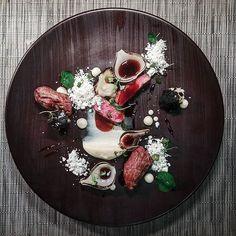 lamb fillet with josper'ed celeriac and lamb fat by @thomekas : #chefsroll #rollwithus #uk