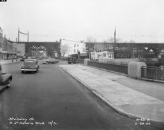 Steinway Street, North at Astoria Boulevard. November 29, 1950    House standing there is 23-63 Steinway Street, Astoria -- my grandfather lived there from late 1960s until early 1980s.