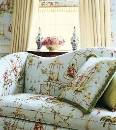 Chinoiserie Chic: Introducing Thibaut's South Sea-Marco Polo the inspiration