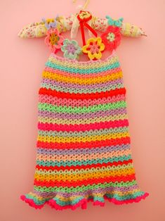 crochet dress - so cute!
