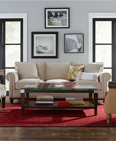Martha Stewart New Club Living Room Furniture - Living Room Sets & Collections - Furniture - Macy's
