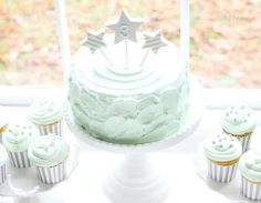 Moon and Stars Themed Birthday Party from Layla Grayce