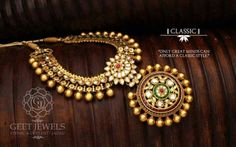 gold necklace from geet jewels