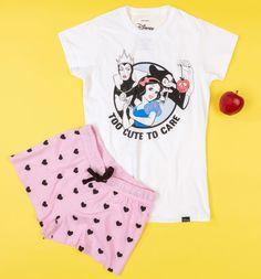 Shop Disney T-Shirts, Clothing & Gifts - Official Disney Merchandise Kids Pajamas, Pyjamas, Pjs, Girl Sleeping, Disney Outfits, Disney Clothes, Disney Merchandise, Cute Disney, White Outfits