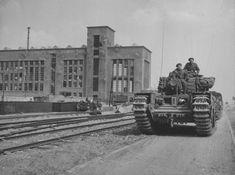 AVRE (Churchill Mk.III/IV AVRE — Armoured Vehicle Royal Engineers) Arnhem 1944