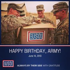 Happy Birthday @U.S. Army #ArmyBDay