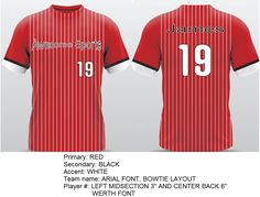 Custom jerseys fully sublimated in 5-7 business days