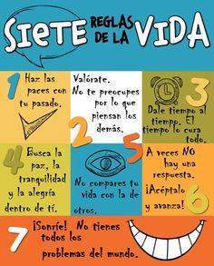 Siete reglas de la vida.