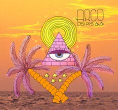 Taquicárdica: Ilustraciones #ilustraciones #arcoosiris #eye #carmenpatricia #pyramid #sea #carmenpatricia #taquicardica