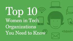 10 Girls&Women in Tech Orgs You Should Know / Craig Newmark + @HuffPostWomen   #girlswhocode