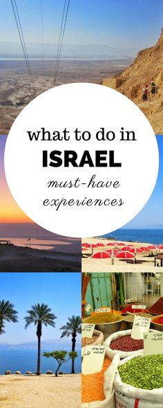 Heading to the Middle East soon? Don't skip Israel - there's just so many things to do in Israel. Click through to read more! Planing to visit Israel?Things to do in Israel & travel accessories ideas Cool Places To Visit, Places To Travel, Travel Destinations, Places To Go, Middle East Destinations, Asia Travel, Travel Tips, Budget Travel, Travel Ideas