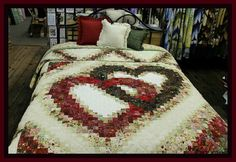 Double heart quilt