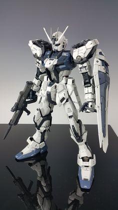 GUNDAM GUY: PG 1/60 Strike Gundam Ver. Hoi - Painted Build Anime Couples Manga, Cute Anime Couples, Anime Girls, Robo Transformers, Perfect Grade, Strike Gundam, Gundam Astray, Futuristic Armour, Unicorn Gundam