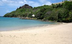 Beach, Pigeon Island National Park, St Lucia
