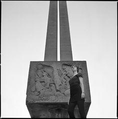 Adriana en el monumento al Labrador Logroño España. (Esc. Alejandro Rubio Dalmati 1967)  http://ift.tt/1SM6u1F  #brutalist_architecture #brutalism #brutal_architecture #cityscape #concrete #beauty #modernism #vintage #vintagestyle #hasselblad #lady #bnw #portrait #midcenturymodern #betonbrut #concretelife #nice #midcenturymodern #picoftheday #instagood #instadaily #sculpture #sixtiws #art #artist #fashion #streetphotography #urban #analog by charlystardust