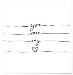 You Are My Heart - Mareike Böhmer - Premium Poster