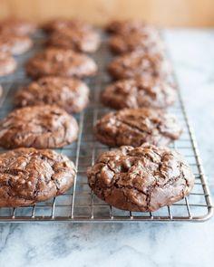 Chocolate Truffle Cookies with Cherries & Walnuts