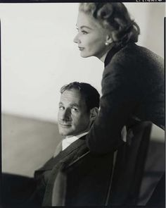 Irving Penn and his wife Lisa Fonssagrives, 1951. Photo: Horst.