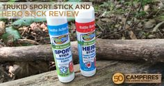TruKid Sport Stick and Hero Stick - just some awesome products for muscles and owies! http://50campfires.com/trukid-sport-stick-hero-stick-review/