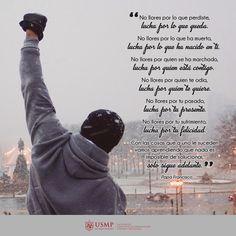 #FraseFCCTP | Lucha por tus sueños para que nada te detenga. #FelizJueves