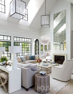 Here are some doable living room decor and interior design tips that will make your home cozy and comfortable for family and friends. Transitional Living Rooms, Living Room Modern, Living Room Designs, Living Spaces, Transitional Style, Small Living, Living Room Furniture, Living Room Decor, Furniture Layout