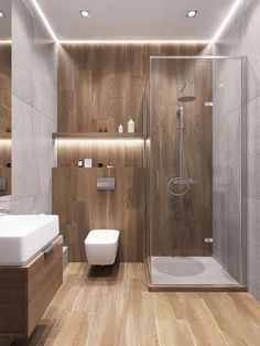 Bathroom ideas, bathroom remodel, master bathroom decor and bathroom organization! Master Bathrooms could be beautiful too! From claw-foot tubs to shiny fixtures, these are the master bathroom that inspire me the absolute most. Bathroom Design Luxury, Bathroom Layout, Modern Bathroom Design, Bath Design, Tile Layout, Wc Design, Modern Toilet Design, Kitchen Design, Modern Design