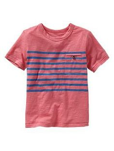 Slub engineer stripe tee | Gap