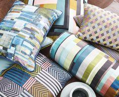 Modern Muse, Cushions, Throw Pillows, Bed, Home, Toss Pillows, Toss Pillows, Stream Bed, Pillows