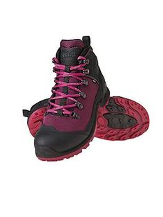 Biom Terrain Boot by Ecco® - The ultra-comfortable ECCO® hiking boot that features BIOM technology to absorb impact and transfer momentum.