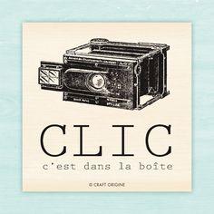 Tampon Craft Origine - Clic / Craft Origine stamp - Clic