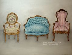 Viva le France - French Chairs