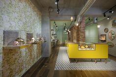 Les Néréides flagship store by KC design studio, Taipei jewellry