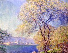 Claude Monet - Antibes Seen from the Salis Garden, 1888