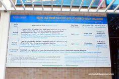 Tabla de precios para entrar a Halong Bay #Vietnam