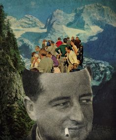 47 best collage work images on pinterest collage illustration the tourist fandeluxe Gallery